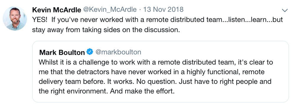Kevin McArdle, CEO of SureSwift Capital on leading a remote, distributed team.