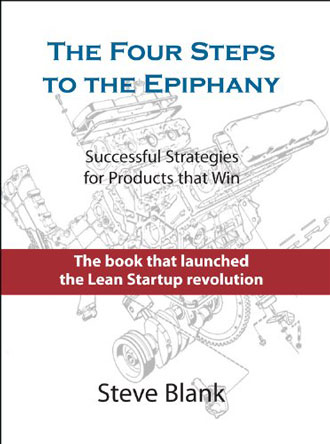 Best books for entrepreneurs - The Four Steps to the Epiphany by Steve Blank