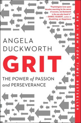 Best books for entrepreneurs - Grit: The Power of Passion and Perseverance by Angela Duckworth