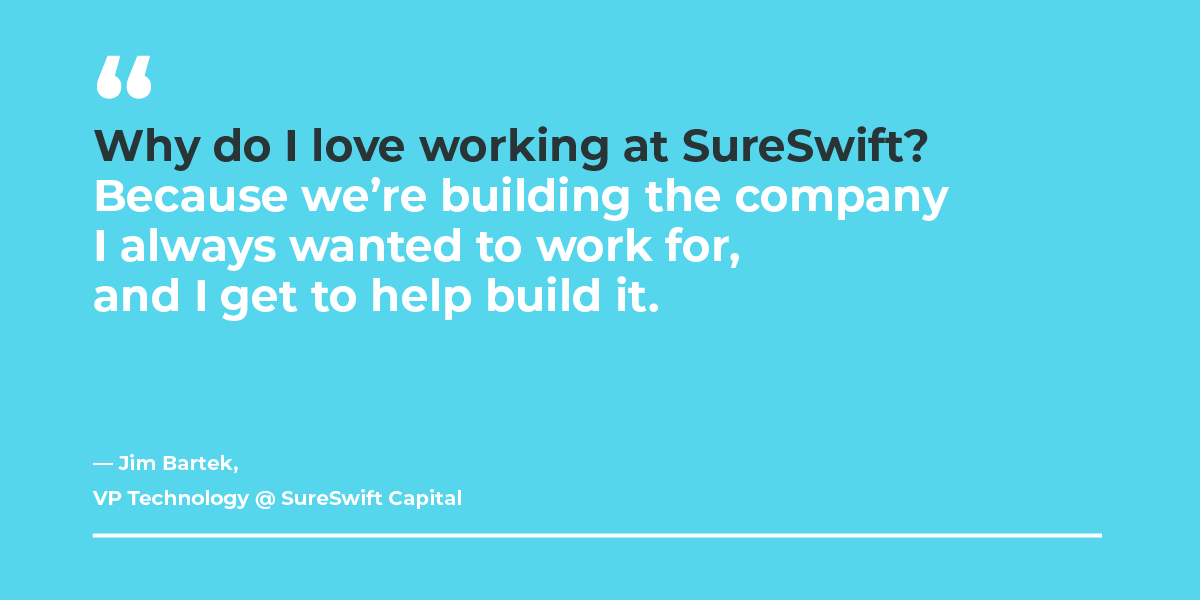 Company culture at SureSwift